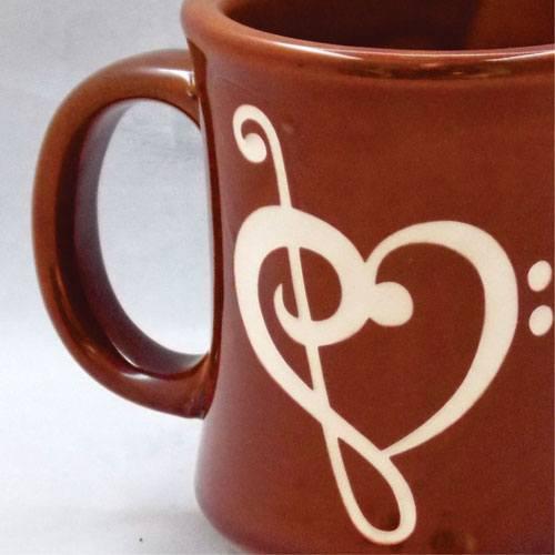 Sandblasted Mug